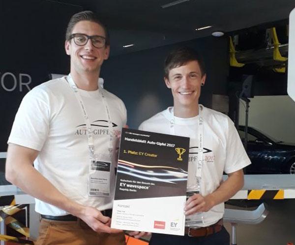 Future Lab »EY Creator« auf dem Auto-Gipfel