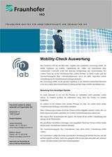 Fraunhofer IAO: MobilityCheck