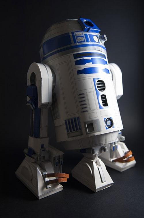 Abbildung 1: Der Star-Wars-Droide R2-D2 – Kopf-Körper-Beine, aber keine Stimme.